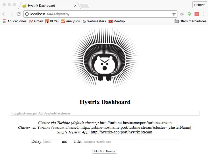 hystrix dashboard